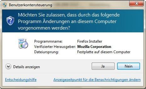 Unbenötigte Windows-Komponenten entfernen