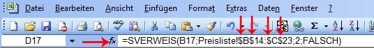 Anleitung: SVERWEIS Funktion in Excel benutzen