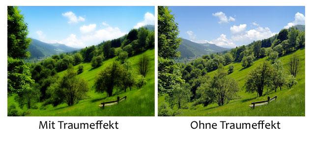 Bilder mit Traumeffekt in Photoshop erstellen