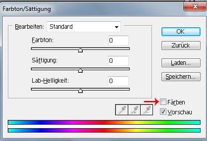 Tutorial: Windeffekt/Texteffekt in Photoshop 7.0