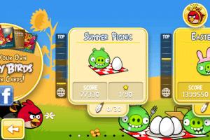 App: Angry Birds Seasons Lösung - Summer Pignic komplett