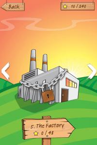 """App: Drop Chicken - Komplettlösung für die 5. Welt """"The Factory"""""""