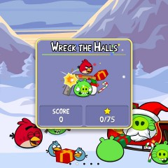 Angry Birds Seasons Lösung für Wreck the Halls