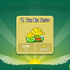 Angry Birds Komplettlösung für 3. Danger Above