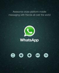 WhatsApp Messenger für Smartphones