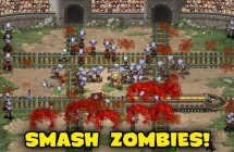Arcade-Defense-Spiel Zombies & Trains für iOS & Android