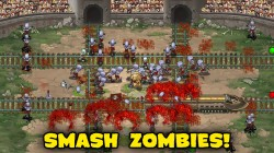 Arcade-Defense-Spiel Zombies & Trains für iOS & Android