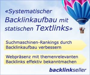 Backlinkseller - mit der eigenen Seite Geld verdienen