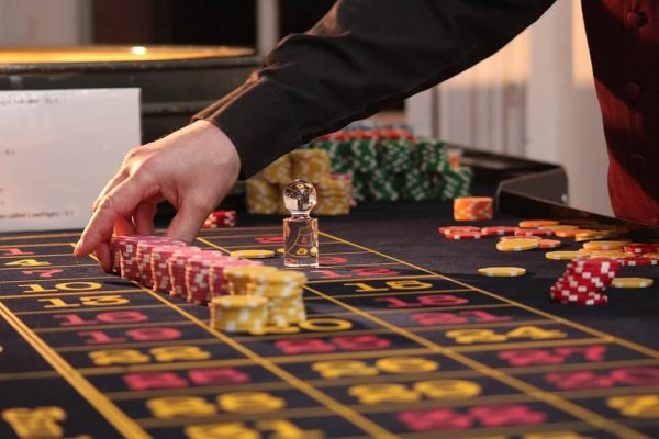 Roulette im Casino mit Live-Dealer